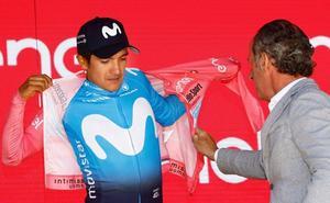 Movistar pone en «duda» la participación de Carapaz en la Vuelta