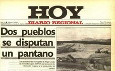 Ahigal y Guijo de Granadilla se disputan el uso de un pantano