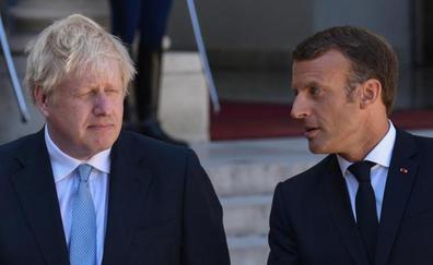 Johnson se topa con el muro de Macron