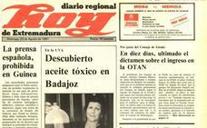 Descubierto aceite tóxico en la barriada de la UVA, en Badajoz