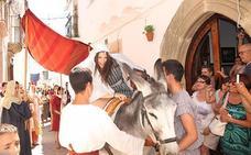 Numeroso público en Alburquerque por XXVI Festival Medieval, sobre todo por la noche