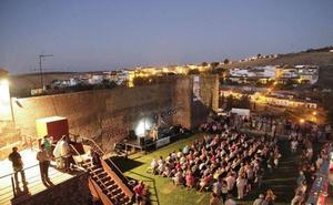 Concierto de jazz en el baluarte de los Pozos de Cáceres