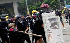 Hong Kong vive un nuevo fin de semana de protestas bajo máxima tensión