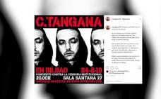 C. Tangana burla el veto y actúa hoy gratis en una sala de Bilbao