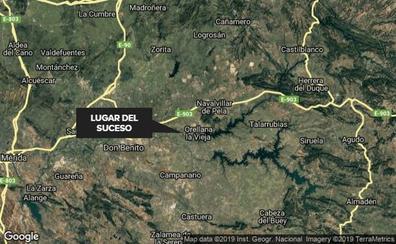 Una mujer resulta herida en el atraco a su vivienda en Orellana la Vieja