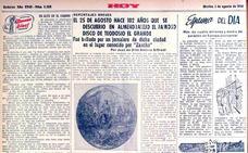 El 25 de agosto, aniversario del descubrimiento del Disco de Teodosio