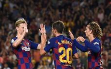 El Camp Nou grita 'Oh là là'