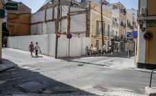 La obra para eliminar las aceras de Santo Domingo, en Badajoz, arranca a final de mes