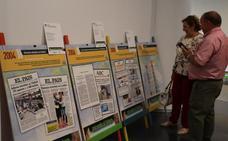 La exposición 'Mirando al futuro' muestra en Villanueva de la Serena hechos destacados del último siglo