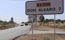 La carretera que une Mérida y Don Álvaro aún no se ha recepcionado