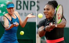 Serena Williams aplasta a Sharapova en su estreno en el Abierto de EE UU