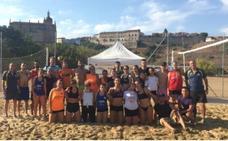 Alejandro Sánchez y Jesús Almohalla ganan el VIII Torneo de Vóley Playa en Coria
