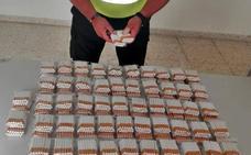 Intervienen a un vecino de Badajoz 2.120 cigarrillos de fabricación casera que iba a vender de forma clandestina
