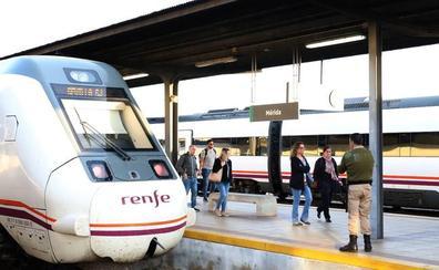 La Delegación defiende la bajada de incidencias en el tren extremeño