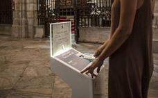 La catedral instala el primer cepillo electrónico en Badajoz