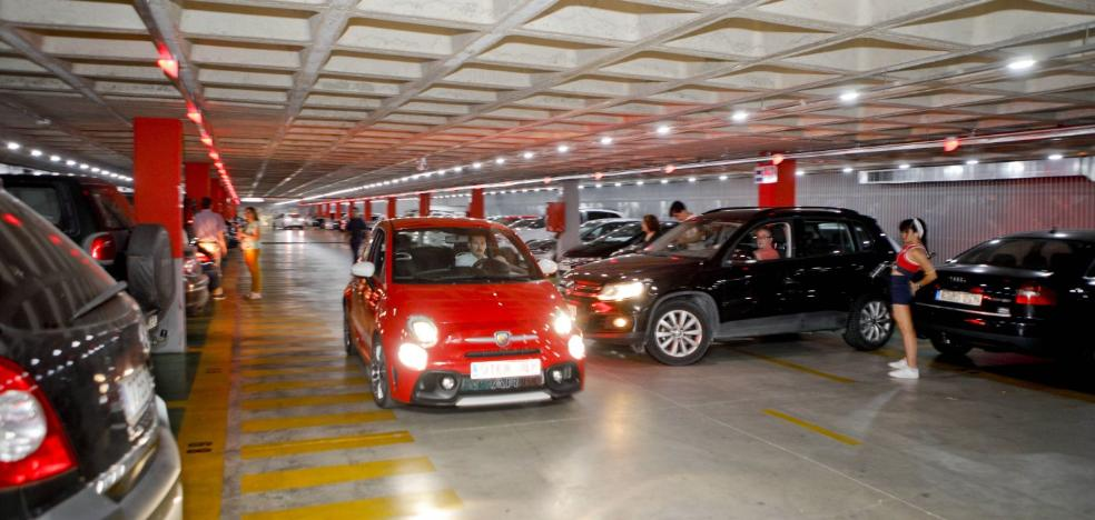 La ocupación del parking de Primo de Rivera de Cáceres llega al 80% en días laborables