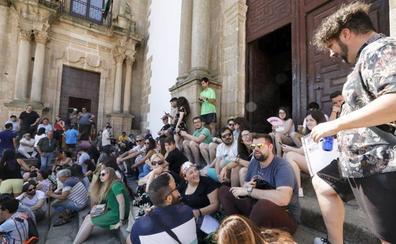 El rodaje de la serie 'Inés del alma mía' llega a Cáceres la próxima semana