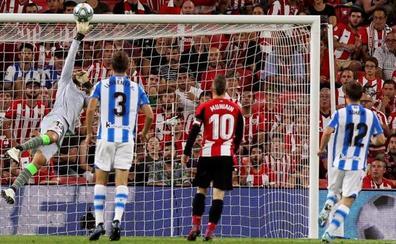 El Athletic se lleva el derbi vasco