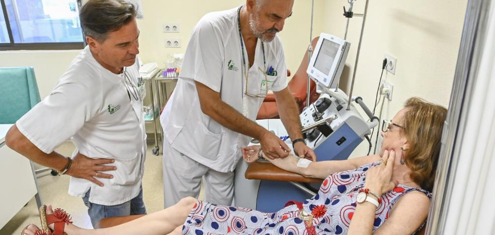 Menos visitas al hospital para los pacientes de hematología