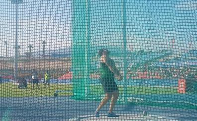 El extremeño Cienfuegos eleva su récord nacional de martillo a 78,70 metros