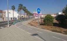 El carril bici seguirá su recorrido por la zona norte del municipio