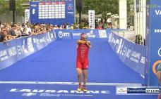Quini Carrasco, cuarto en el Mundial suizo