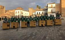 El Cáceres visita la ciudad monumental