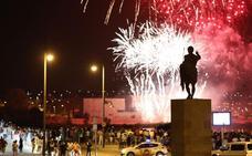 La Feria se despide con el tradicional acto de fuegos artificiales