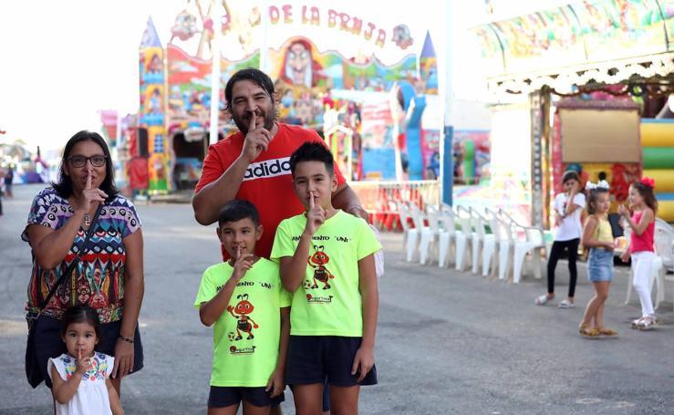 Los emeritenses aplauden el Día sin Ruido celebrado en el ferial
