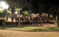 La Policía Nacional investiga la pelea que reunió a decenas de jóvenes en el Parque Infantil de Badajoz