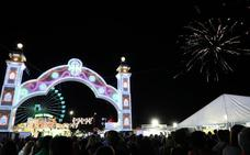 Con el encendido comienza la Feria de Don Benito