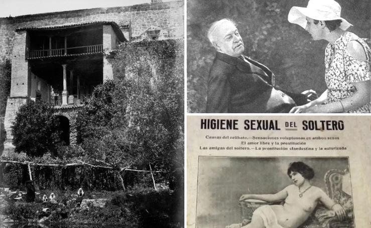 DESDE LA MOTO DE PAPEL | El cacique juerguista de Cuacos y el escritor que comió carne humana