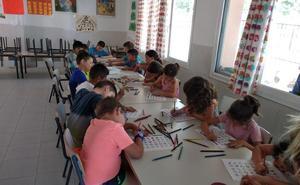 Más de cien menores cierran el verano en los comedores extraescolares de Badajoz