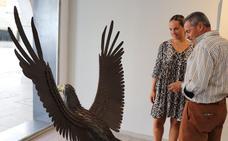 Manuel Sánchez expone en Villanueva una treintena de piezas inspiradas en Picasso