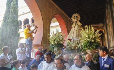 El arzobispo de Toledo pide a 'La Morenita' ayuda para Extremadura