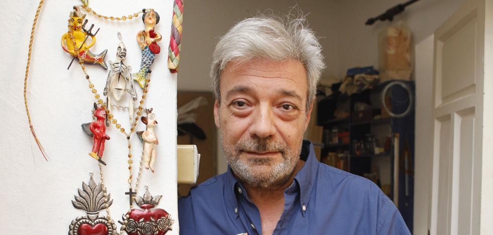 Hilario Bravo: «Siempre quise ser escritor, pero la literatura está peor pagada que la pintura»