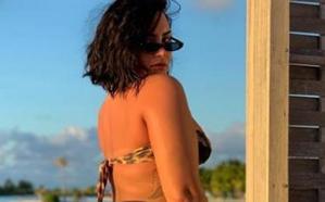 Demi Lovato se muestra como es