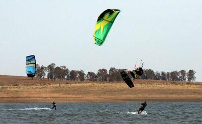 Kitesurf en agua dulce