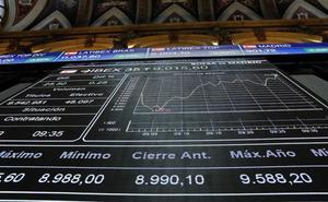 El Ibex-35 recupera los 9.000 con el impulso de la banca