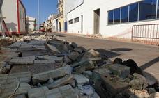 Las obras en el barrio del Pilar estarán terminadas en octubre