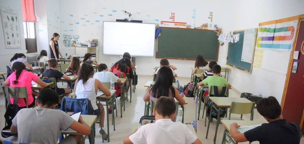 Unos 2.400 interinos se incorporan para el inicio del curso escolar