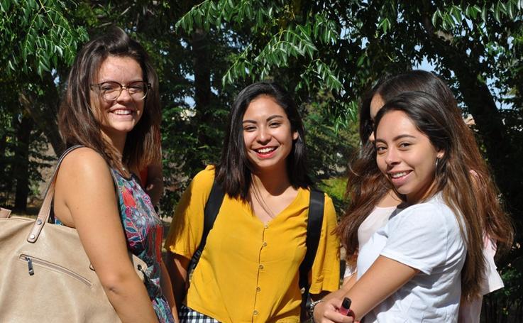 Bienvenida a los alumnos extranjeros de la UEx