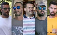 Los tres miembros de 'La Manada' admiten sin reparos haberse llevado las gafas de la óptica donostiarra sin pagar