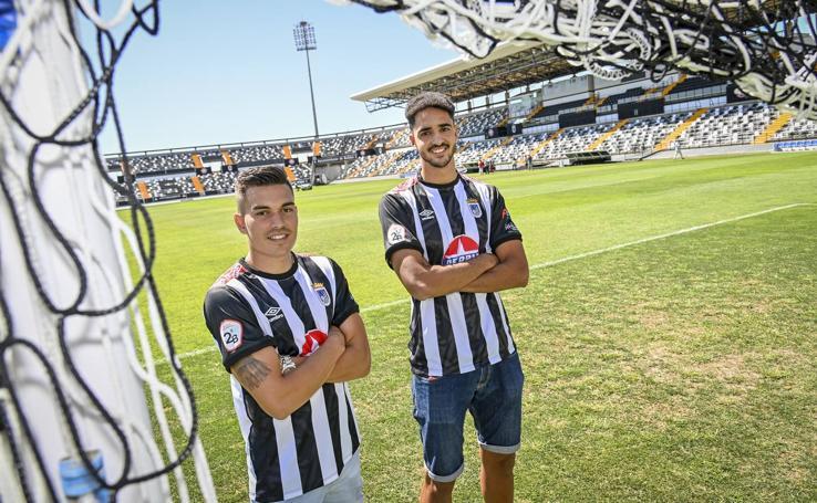 El CD Badajoz cierra la plantilla con dos nuevos jugadores