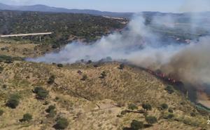 Controlados los incendios de Aldeanueva, Villanueva de la Vera y Garganta la Olla
