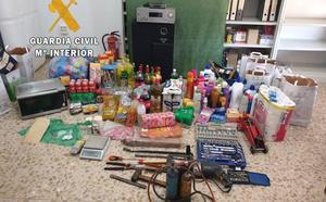 Un hombre y una mujer ingresan en prisión por varios robos cometidos en Logrosán