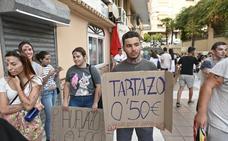 Las novatadas universitarias toman las calles de Badajoz