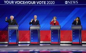 Nadie sobresale en el debate estrella de los presidenciables demócratas