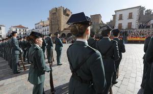 La Guardia Civil recibirá la Medalla de Cáceres por su 175 aniversario