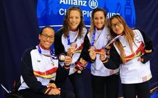 La nadadora extremeña Yinghua Hernández logra un bronce en Londres